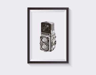 Rolleiflex illustration