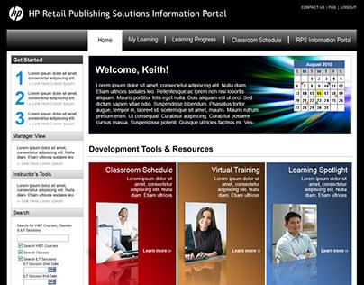 Hewlett Packard Publishing Solutions Information Portal