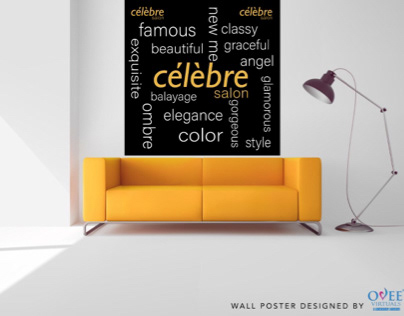 Wall poster designed by Ovee Virtuals