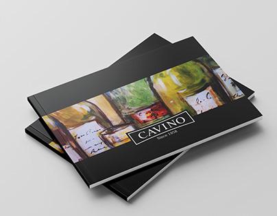 Cavino Menu Design