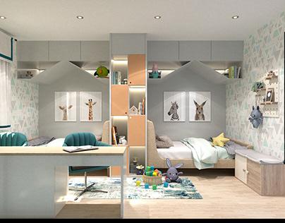 Children's room (simple house)