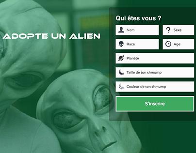 Adopte un Alien - WebBasement