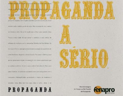 Fenapro Universitário 2016 - Dia Mundial da Propaganda
