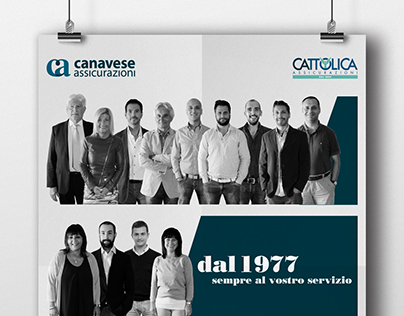 Poster Restyling - Canavese Assicurazioni