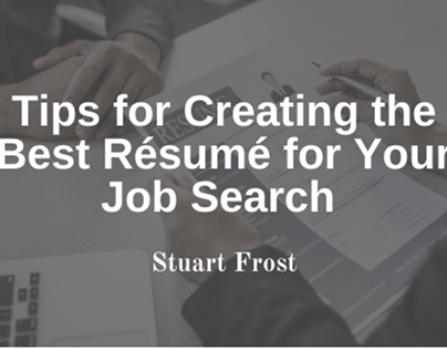 Creating The Best Résumé