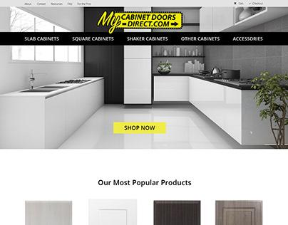 My Cabinet Doors Direct Custom WordPress Website