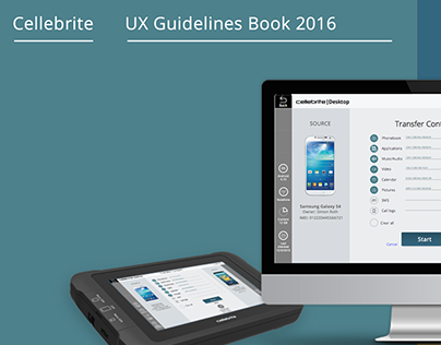 Cellebrite /// New generation UX/UI products guideline