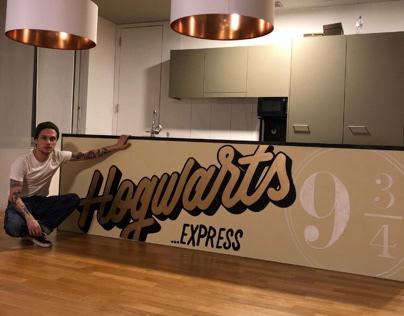 Hogwarts Express / Kitchen Island