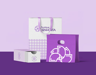 Boutique Senhorita - Identidade Visual