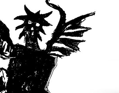 Satanic Verses _ Book Cover Redesign