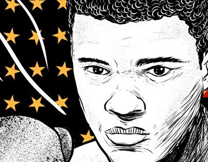 Muhammad Ali (Menażeria #34 cover)