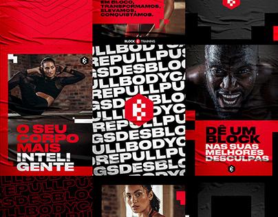 Block Training | Brand design