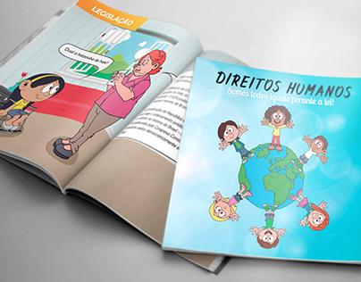 Cartilha Direitos Humanos (Ilustração e layout)