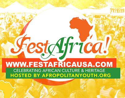FestAfrica Promo Video Graphics