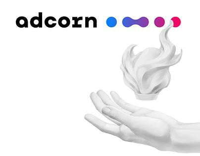 Айдентика Adcorn