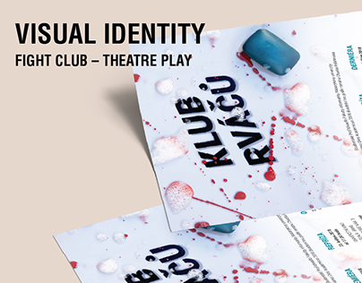 Visual Identity of a Theatre Play - Fight Club