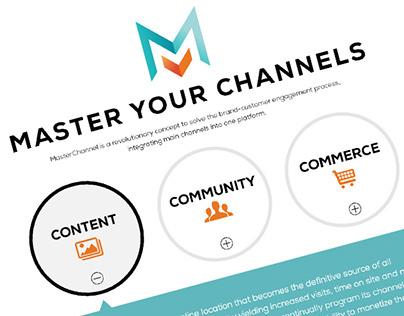 MasterChannel - site design