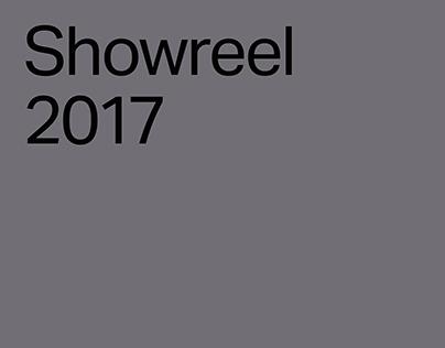 Showreel — 2017