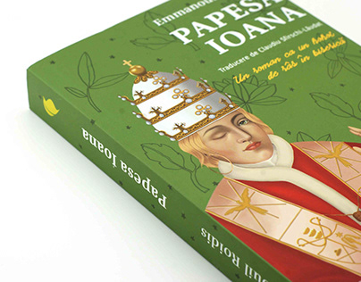 Papesa Ioana - Emmanouil Roidis - Book cover