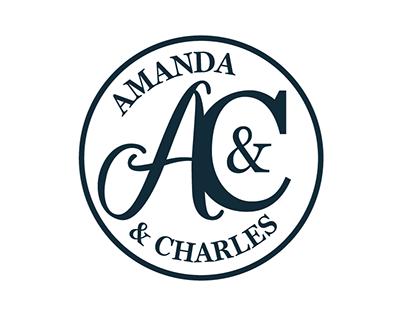 Amanda & Charles Wedding Branding