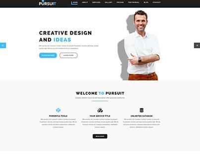 Pursuit - Business, Corporate, Creative PSD Template