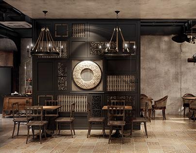 indochine interior restaurants