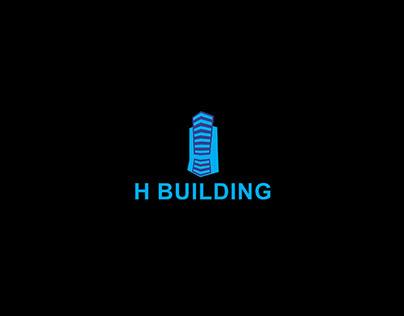 H Building Logo Design