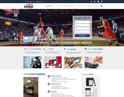 5050 mock up Website