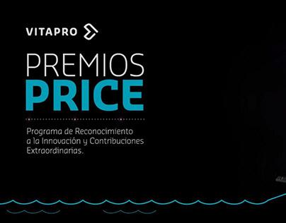 "Video promocional ""Premios PRICE"" - Cliente: Vitapro"