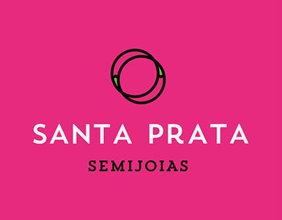 Santa Prata visual identity