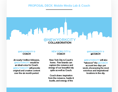 Presentation Deck for Mobile Media Lab