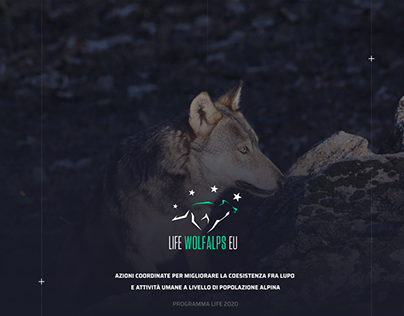 Life Wolfalps EU - New Website
