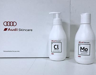 Audi's Skincare Package Design : Skincare + Technology