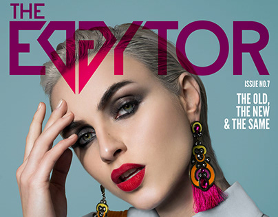 Paula Zago for The Edgytor Magazine - Cover Editorial