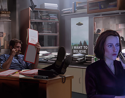 The X-Files 25th Anniversary 'Paperwork'