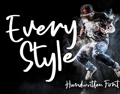 Every Style Handwritten Font made by #fontself