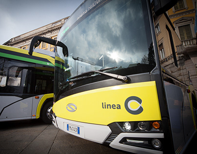 Linea C — New electric bus line inauguration