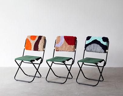 ACAMPA - T44 + Luiza Caldari / tufting furniture