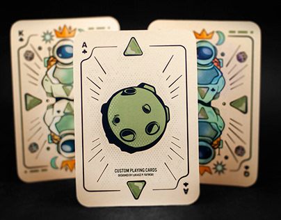 Sci-Fi Custom Playing Cards