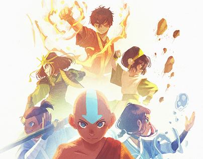 Avatar The last Airbender(Fanarts)