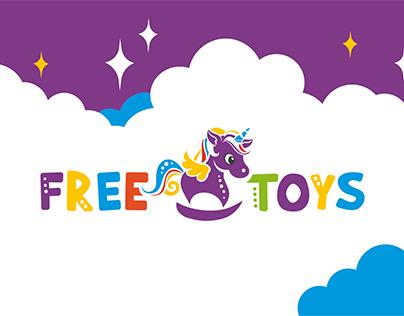 Branding design - Free Toys