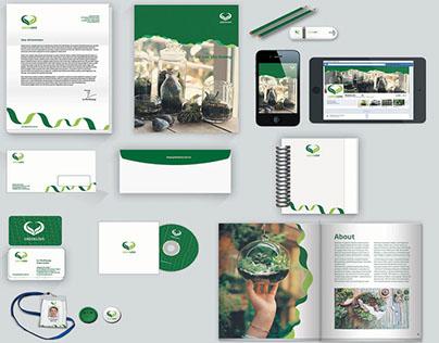 Portfolio_GREEN LOVE brand identity project
