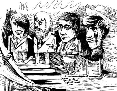 Four Quiet Men