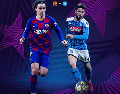 champions league branding 2020