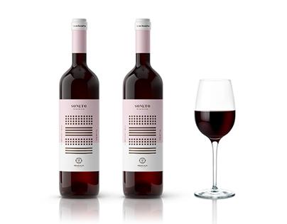 Packaging vino gran reserva, Soneto (Arbocala)