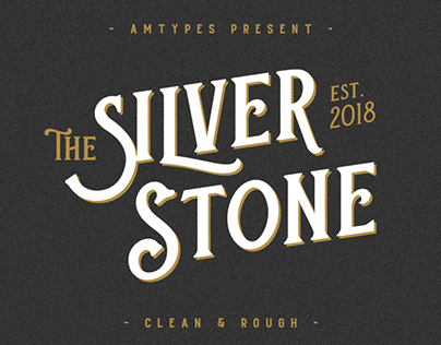 Silver Stone Font