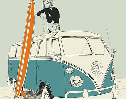 Wild Surfer