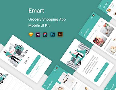 Emart - Grocery Shopping Store UI Kit