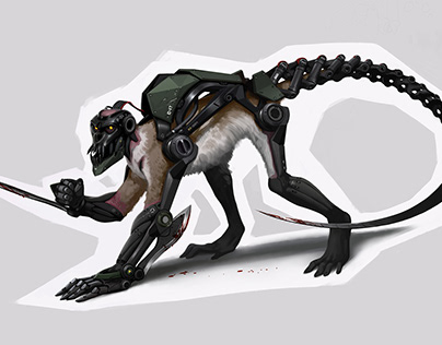 monkey-cyborg
