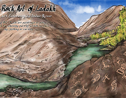 Prehistoric Rock Art of Ladakh